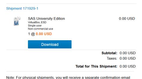 SAS University Edition