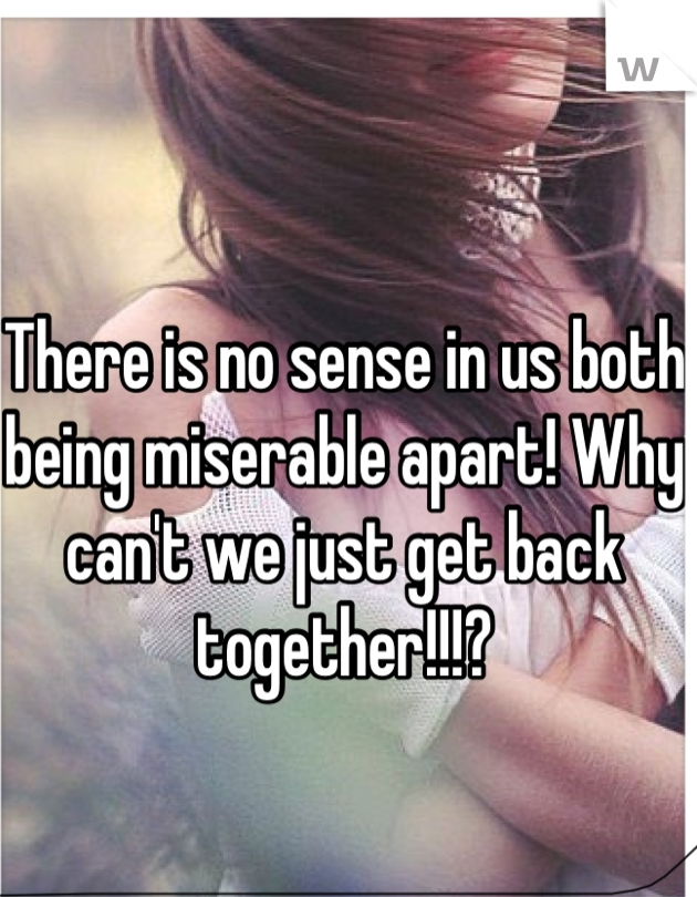 Both Miserable Apart