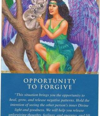 Opportunity to Forgive