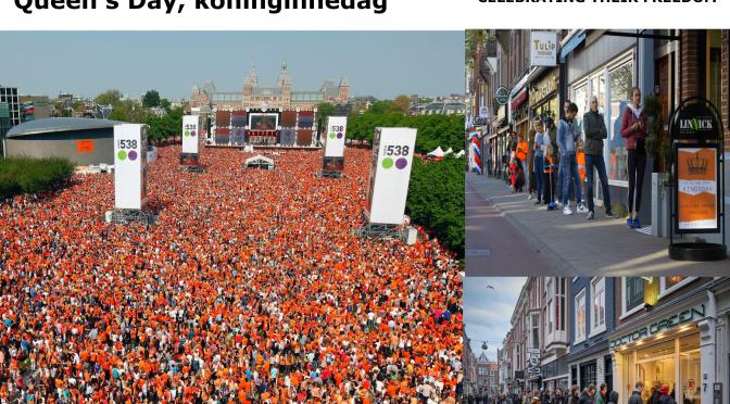 Liberation Day 2020 in the Netherlands –  Bevrijdingsdag 2020 in Nederland